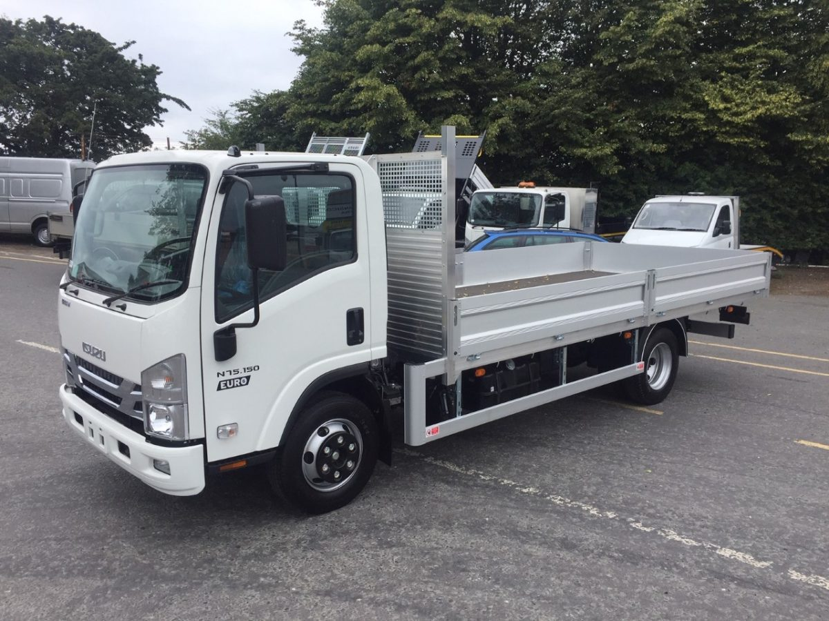 Isuzu N75-150 Manual Twin Dropside