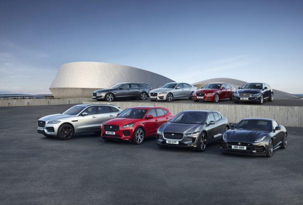 Jaguar Models XE, XF, XJ, E Pace, F Pace, I Pace